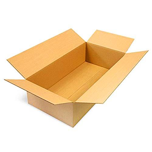 50 Faltkartons 60x30x15cm braun KK 106 1 wellig rechteckige Versandkartons | DHL M Päckchen | DPD L | GLS L | H M Paket | DHL Versandkartons Größe M | Päckchen Größe M