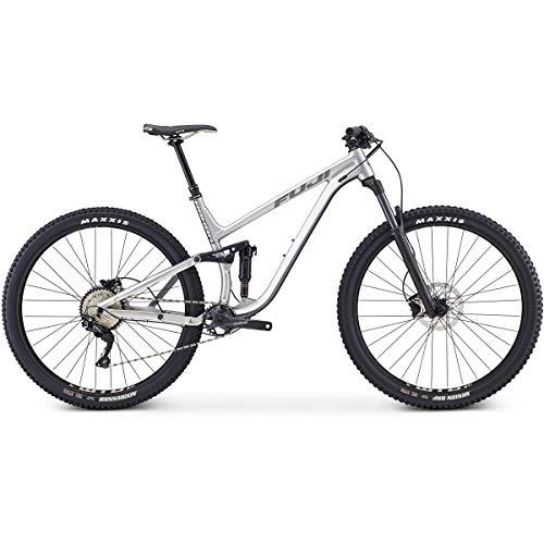 Fuji Rakan 29 1.5 Full Suspension Bike 2019 Satin Tech Silver 43.5cm (17