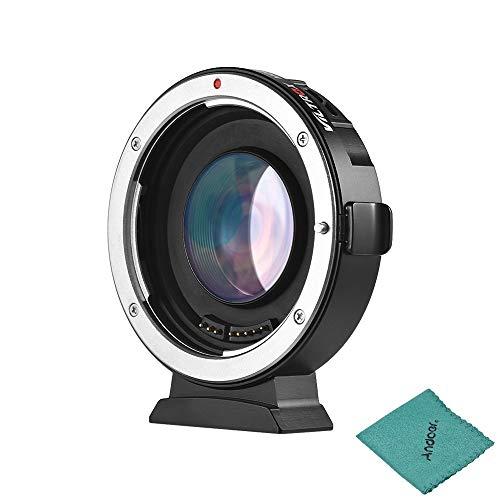 Viltrox Ef-m2mise au point automatique Adapter 0,71X de monture d'objectif pour objectif Canon EOS EF vers Micro Four Thirds (MTF, caméra M4/3)