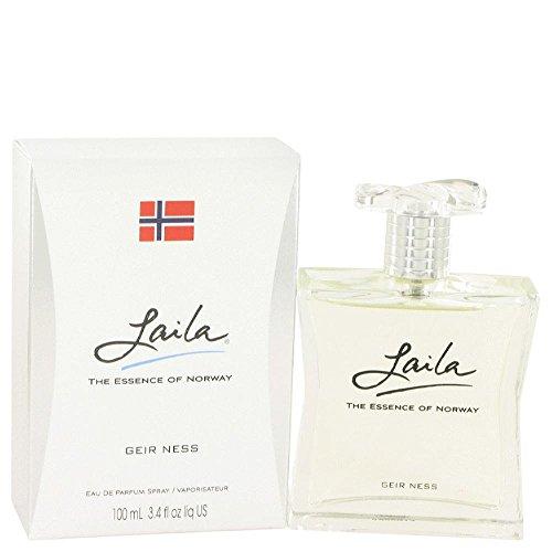 Laila by Geir Ness Eau De Parfum Spray 3.4 oz / 100 ml (Women)