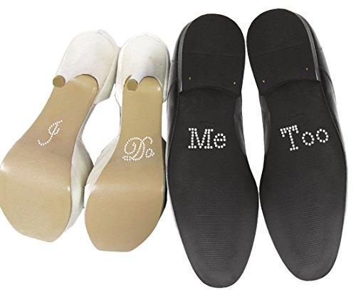 Wedding Touches -  Schuhsticker-Set mit