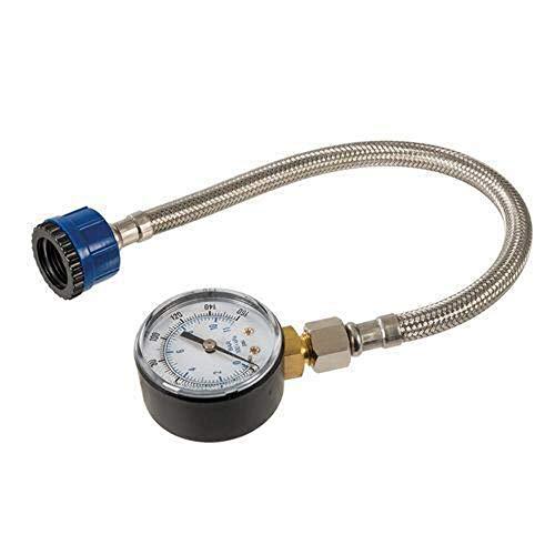 Silverline Silverline 482913 Wasserdruckmesser mit Edelstahlschlauch Bild