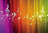 新しい夢のような音楽の背景夢のシンボル音符の写真の背景