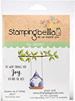 Stamping Bella Cling Stamps-Gnome On A Swing