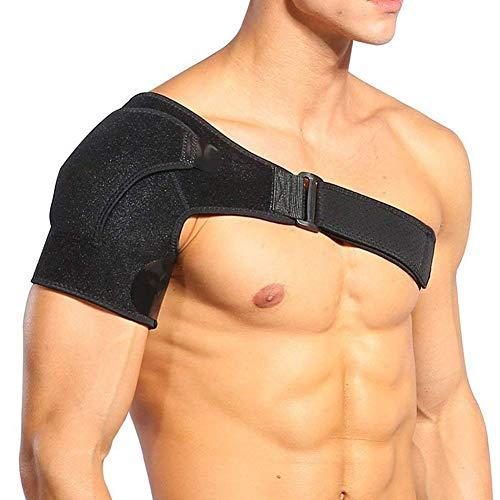 HYRL Schulterstütze Einstellbare Unterstützung der Rotatorenmanschette für Männer oder Frauen Ärmel Schultermanschette Schulter