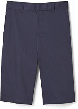 Flat Front Shorts (Little Kids/Big Kids)