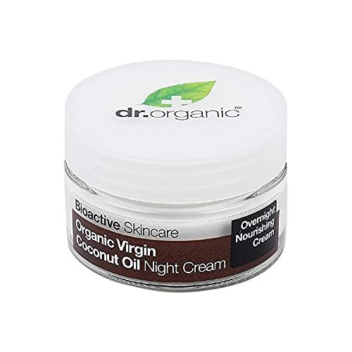 dr organic - Virgin Coconut Oil Night Cream | Best For Night-time...