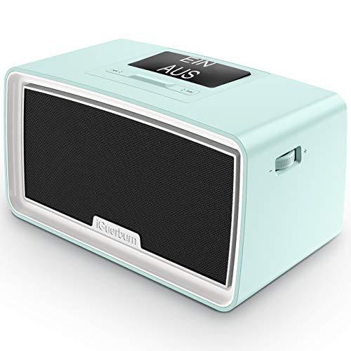 iGuerburn Verbesserter 16GB MP3-Player für Demenzpatienten - Musik Demenzprodukte mit einfacher Handhabung - Geschenke für Menschen mit Alzheimer - Musikbox für ältere Senioren 24x12,5x12cm (Blau)