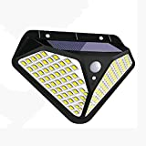 Luz de Pared Solar Para Exteriores, 3 Modos Opcionales, 102 Luces...