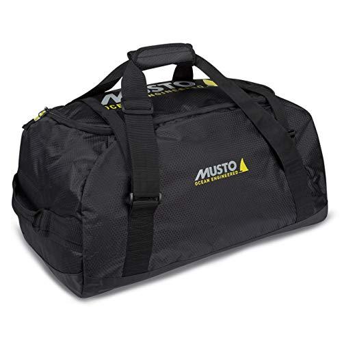 Musto Essential Holdall Tasche oder Gepäck mitnehmen 65L 65 Liter Inhalt Schwarz - Leichtgewicht