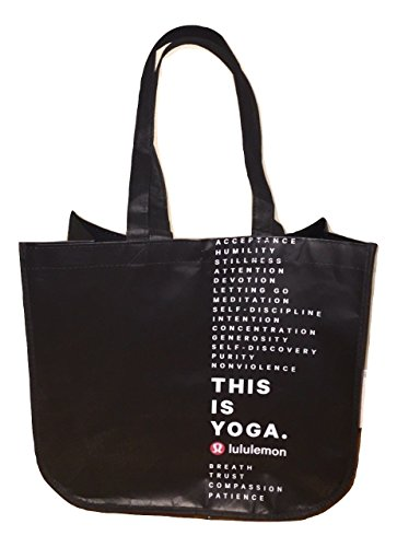 Lululemon Holiday Special Edition LARGE Reusable Tote Carryall Gym Bag