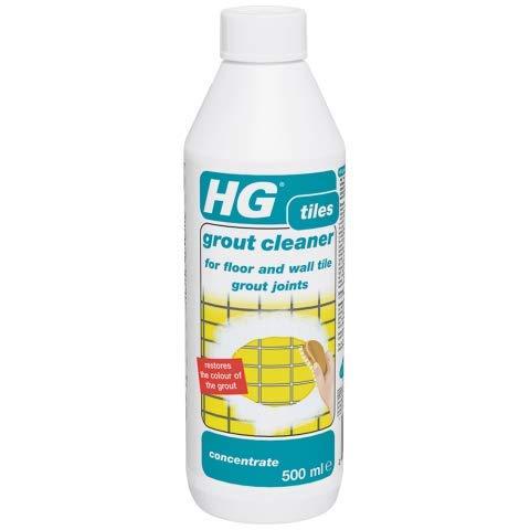 HG Fugenreiniger Konzentrat 500 ml - In Konzentrierter Form - Für Fliesenfugen auf dem Boden, an den Wänden und im Badezimmer