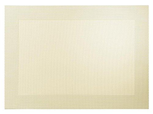 ASA Selection – Sable M. tissés Bord métallique PVC Set de Table 78089076