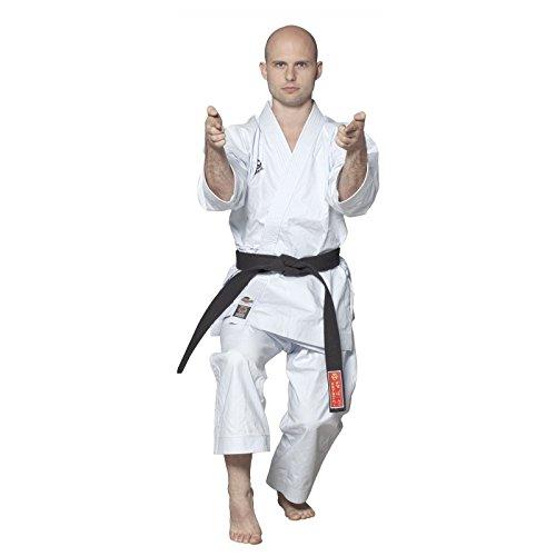 Hayashi 027–Kimono de Karate Unisex, Unisex Adulto, Color Blanco, tamaño 195 cm