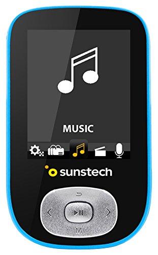 Sunstech SKYBT - Reproductor MP4, Color Azul