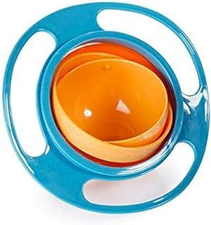 وعاء جيروسكوبي للاطفال بدوران 360 درجة مقاوم للانسكاب