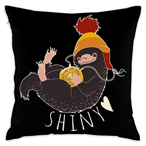 Without The Niffler Decorative Throw Pillow Covers Case Pillowcases Kissenbezüge (50cmx50cm)
