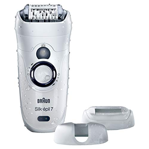 Braun Silk-epil 7 7-531 Wet & Dry Epilator with 3 Extras
