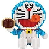 KGAYUC Doraemon Building Blocks, 3D Puzzle DIY Miniatura Miniatura Miniatura Pequeñas Partículas Bloques de construcción Juguete Adulto Montaje Puzzle, Regalo de Cumpleaños