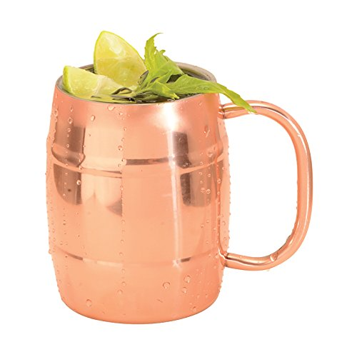Sherpani Double Walled Copper Plated Moscow Mule Mug, 14 oz (Set of 1)