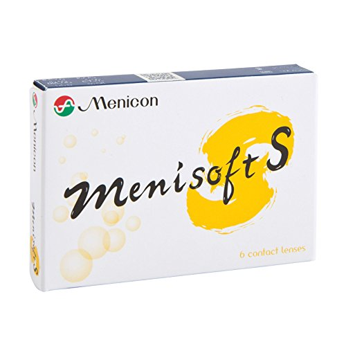 Menisoft S Wochenlinsen, 6 Stück/BC 8.30 mm/DIA 14.00 mm / -5.25 Dioptrien