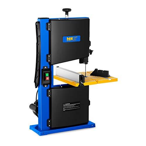 MSW Sierra De Banda MSW-BS350 (350 W, Superficie de trabajo 30 x 30 cm, Inclinable hasta 45°, Altura de corte: 90 mm, Espesor de corte: 233 mm)