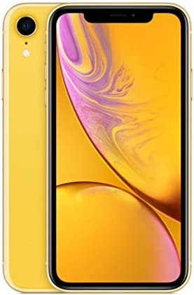 Apple iPhone XR 128GB Yellow Carrier Subscription Cricket Wireless product image