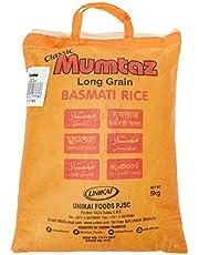 Mumtaz Classic Long Grain Basmati Rice, 5 Kg, White