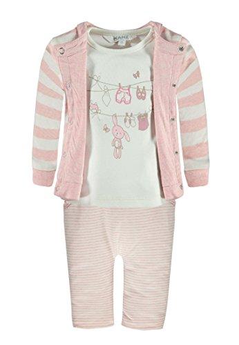 Kanz Unisex Baby Wendejacke Arm + T-Shirt 1/1 AR Bekleidungsset, Rosa (Parfait Pink Melange 8195), 86