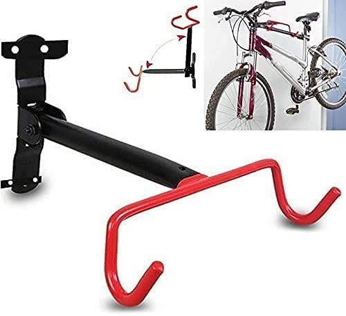 WSZYBAY Gancho de la Pared de la Pared de la Pared de la Pared de la muralla Colgando estacionamiento Estante Plegable Pantalla Anti-rasguño Paredes de Rack Bicicleta Almacenamiento Soporte Soporte