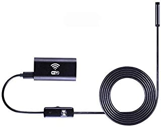 OZSTOCK® 1/2/3.5/5M 2MP 8mm WiFi Endoscope Borescope Inspection Camera iPhone Android PC (1M)