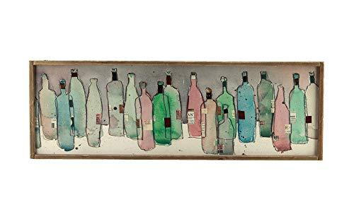 wine bottle wall plaque - 4