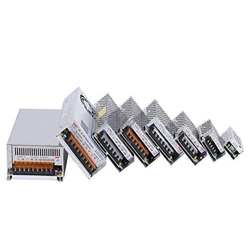 Mintice Universal Konverter AC 110V-220V zu DC 24V 5A 120W Schaltnetzteil Treiber für LED Streifen Trafo Transformator Adapter reguliert Energieversorgung