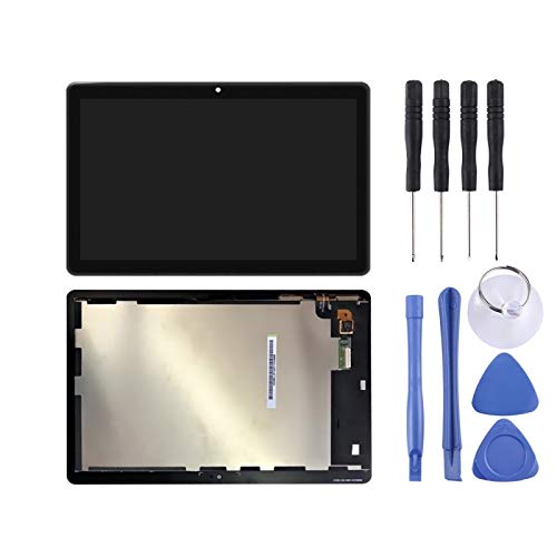 Liaoxig Huawei Spare Schermo LCD e Digitizer Full Assembly per Huawei MediaPad T3 10 / AGS-L03 / AGS-L09 / AGS-W09 Huawei Spare (Colore : Black)