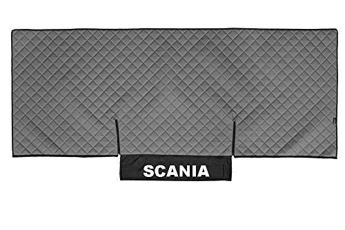 AutoCommerse Tagesdecke für Scania P & G Serie 05–16, Kunstleder, Grau