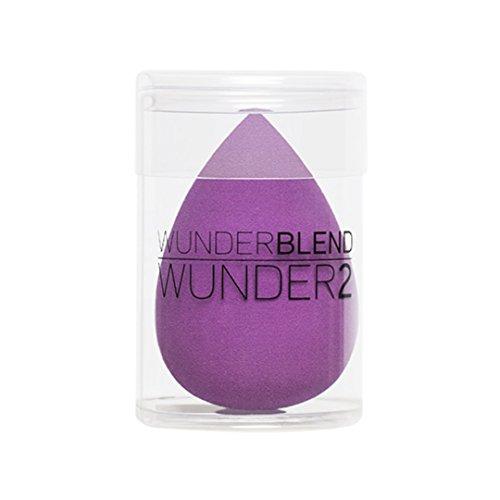 WUNDER2 WUNDERBLEND Applicateur éponge de maquillage pour le fond de teint liquide, le concealer et les cosmétiques en poudre