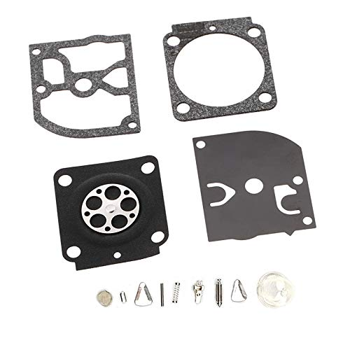 TF Kit de reparación y reconstrucción de carburador sustituye a Zama RB-100 para Stihl HS45 FS55 FS38 BG45 MM55 y Mini TILLER 4137 EMU recortador ZAMA C1Q Carburador C1Q-S69A-S70-S71-S73-S93-S95-S97