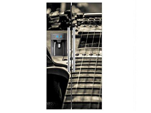 Vinilo Frigorífico Americano Guitarra Eléctrica | 91x179cm | Varias Medidas | Pegatinas...