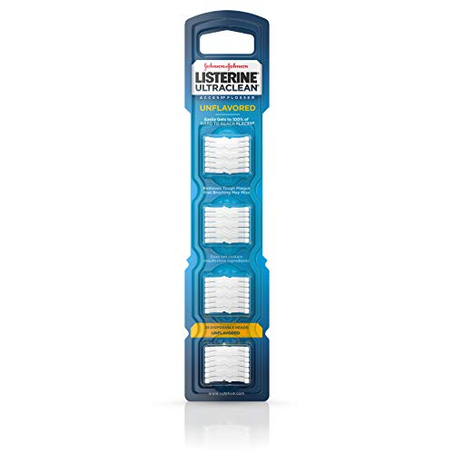 Listerine Ultraclean Access Disposable Flosser Refill Heads 28-Count Now $1.46