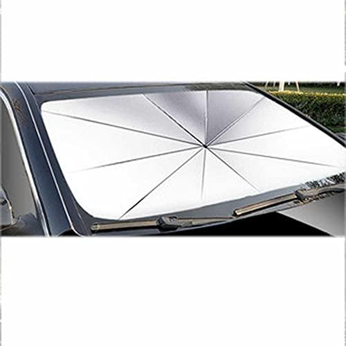 LYSHUI Cubierta de Parasol para salpicadero de Coche, Parasol Plegable para Parabrisas, Aislamiento térmico y protección Solar, Apto para Todos los Modelos de Opel