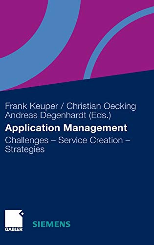 Application Management: Challenges - Service Creation - Strategies