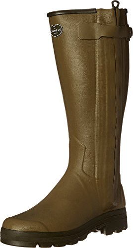 Le Chameau Chasseur Mens Wellington Boot UK6 EU39 US7 Vert Vierzon 41 Calf