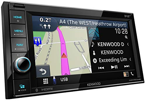 Kenwood Navigation Media Player