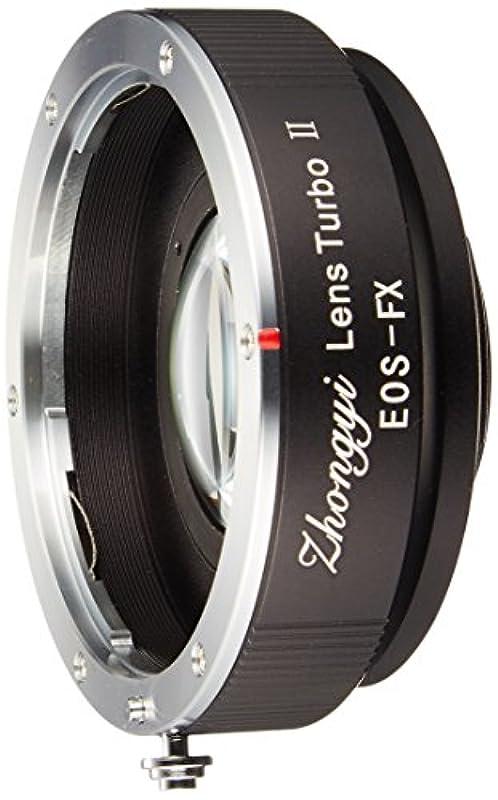 ZHONG YI OPTICS 초점 리듀서 마운트 어댑터 Lens Turbo II M42-FX