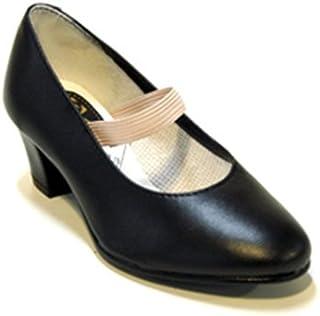 avec Clous Débutant Femme Cuir Menkes S.A Chaussure de Flamenco