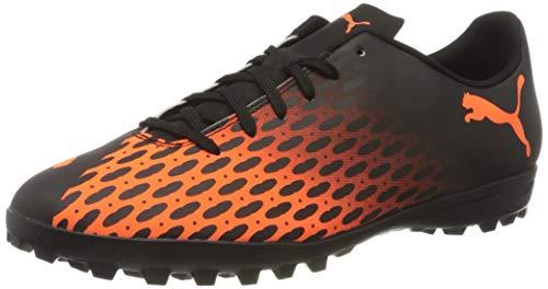 Puma Herren Spirit Iii Tt Fußballschuh, Black-Shocking Orange, 35.5 EU