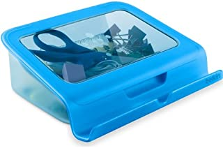 Belkin Universal Tablet Stand/Holder with Storage for Most Tablets Including iPad, Galaxy Tab and Kindle (Blue)
