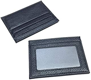 Gardenvale Slim Leather Wallet Credit Card Case Sleeve Card Holder With ID Window