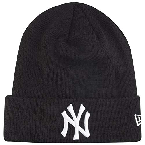 New Era Wintermütze Beanie - Cuff New York Yankees Noir