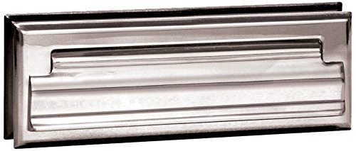 Salsbury Industries 4035C Mail Slot, Standard/Letter Size, Chrome Finish